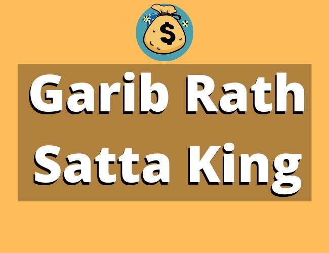 Garib Rath Satta King Charts