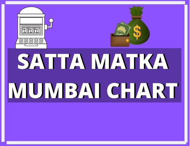 Satta Matka Mumbai Golden Chart