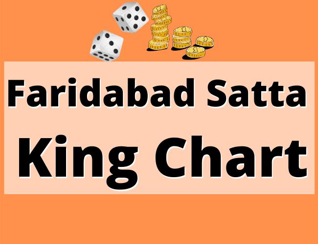 Faridabad Satta King Chart